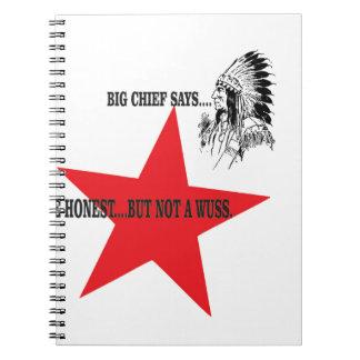 no wuss but honest notebook