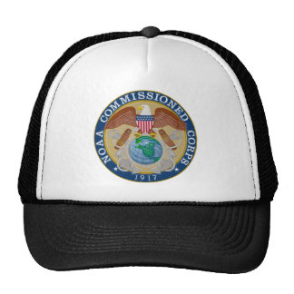 NOAA Commissioned Corps seal Cap