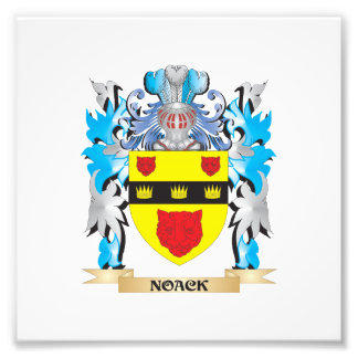 Noack Coat of Arms - Family Crest Art Photo
