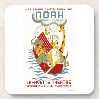 Noah ~ A Human Comedy Beverage Coasters