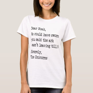 Noah and the Unicorns T-Shirt