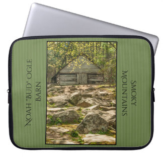 "Noah ""Bud"" Ogle Barn Spring Travel Photography Laptop Sleeve"