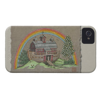 Noah's Ark Barn iPhone 4 Cases