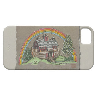 Noah's Ark Barn iPhone 5 Cover