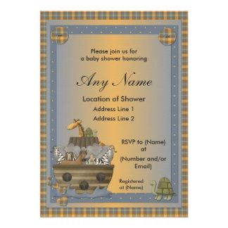 Noah s Ark Christian Baby Shower Invitations