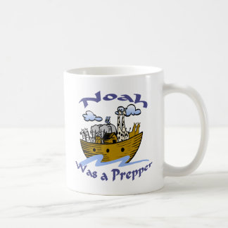 Noah Was A Prepper Coffee Mug