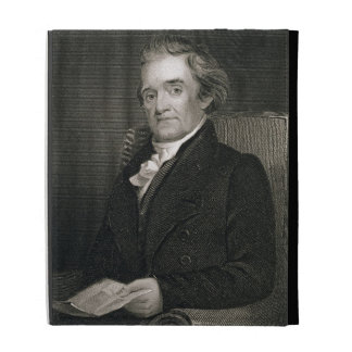 Noah Webster (1758-1843) engraved by Frederick W. iPad Cases