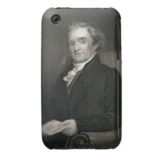 Noah Webster (1758-1843) engraved by Frederick W. iPhone 3 Case