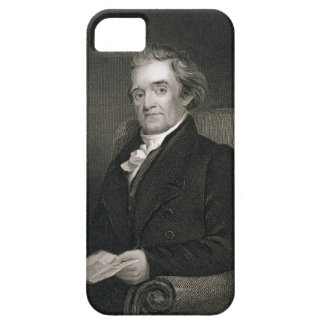 Noah Webster (1758-1843) engraved by Frederick W. iPhone 5 Cover