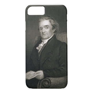 Noah Webster (1758-1843) engraved by Frederick W. iPhone 7 Case