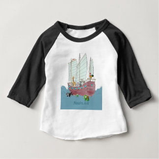 Noah's Ark  American Sleeve Raglan T-Shirt