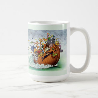 Noah's Ark and Titanic Mug