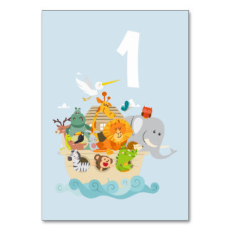 Noah's Ark - animals Card