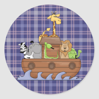Noah's Ark Animals Fun Stickers
