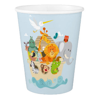 Noah's Ark - animals Paper Cup