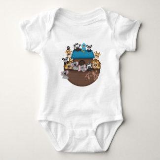 Noah's Ark Baby Jersey Bodysuit