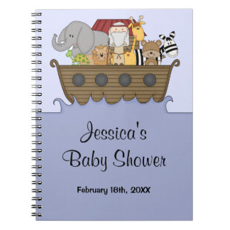 Noah's Ark Baby Shower Guest Book