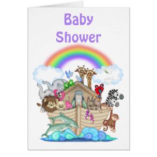 Noah's Ark Baby Shower Invitation