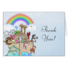 Noah's Ark Baby Shower Thank You Card
