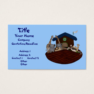 Noah's Ark Business Card