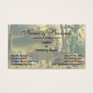 Noah's Ark by Joseph Henry Hidley Business Card