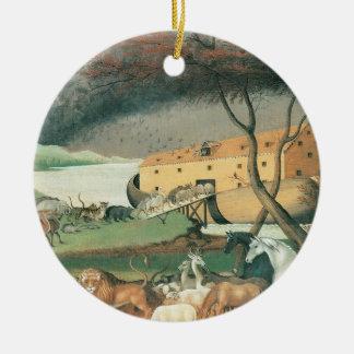 Noah's Ark Ceramic Ornament