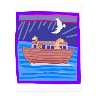 Noah's ark Christian artwork_2 Postcard
