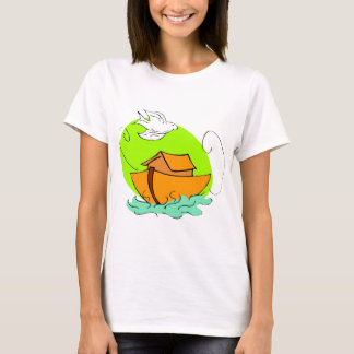 Noah's ark Christian artwork_5 T-Shirt