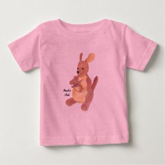 """Noah's Ark"" Collection Kangaroo Mom & Baby Baby T-Shirt"