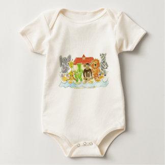 Noah's Ark Critters Baby Bodysuit