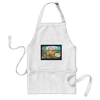 """Noah's Ark"" Funny Cartoon Tees Gifts Collectibles Adult Apron"