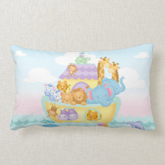 Noah's Ark Lumbar Pillow