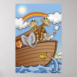Christian Poster: Noah's Ark