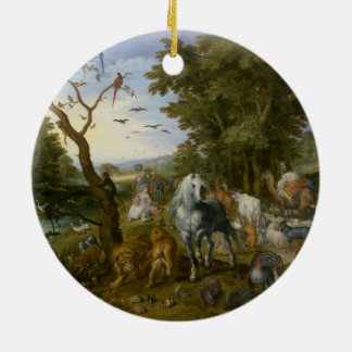 Noahs Ark Religious Art Christmas Tree Ornament