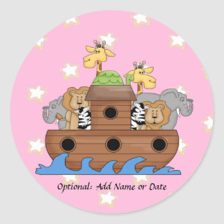 Noah's Ark Stickers for Invitations