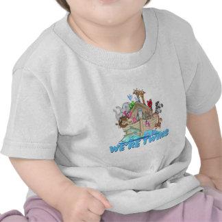 Noah's Ark We're Twins T-shirt