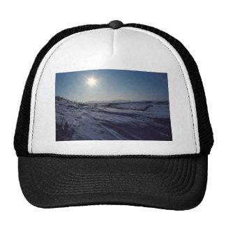 Noatak River Snow Scene Mesh Hat