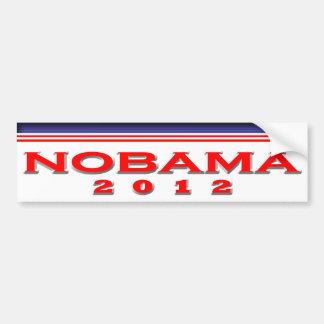 Nobama 2012 bumper sticker