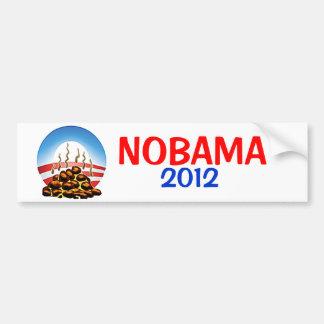 Nobama 2012 OBAMA STINKS Bumper Sticker