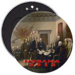 Nobama 2012 pinback button