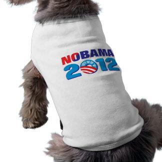 NOBAMA 2012 SLEEVELESS DOG SHIRT