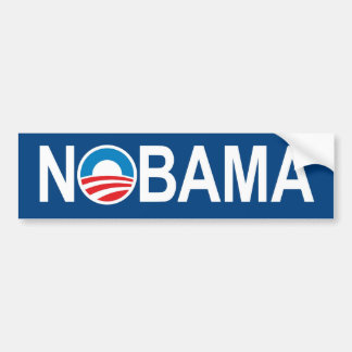 NOBAMA Anti Obama Bumper Sticker