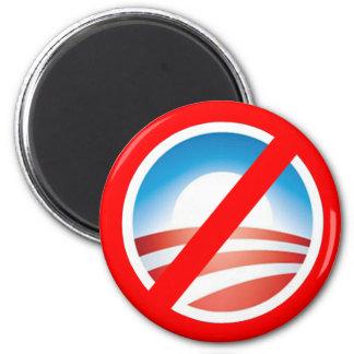 NOBAMA Anti Obama T shirts, Mugs, Hoodies 6 Cm Round Magnet