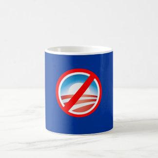 NOBAMA Anti Obama T shirts, Mugs, Hoodies Basic White Mug