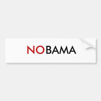 NOBAMA Bumper Sticker