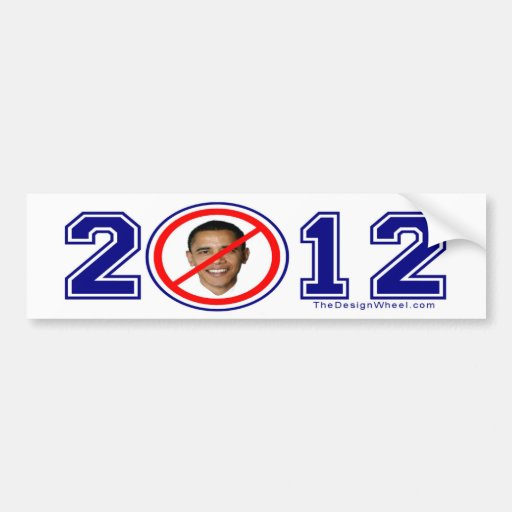 NOBAMA Busters 2012 Decal Bumper Stickers