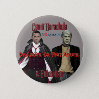 Nobama Halloween-Barackula & Biden Button