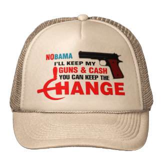 Nobama - Keep The Change! Trucker Hats
