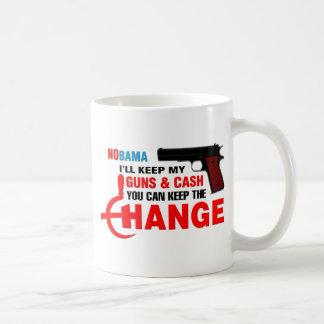 Nobama - Keep The Change! Mugs