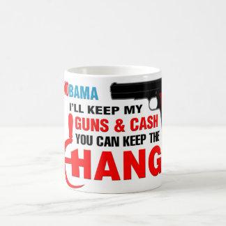 Nobama - Keep The Change! Basic White Mug